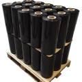 PE black colorful hand stretch packaging wrap film