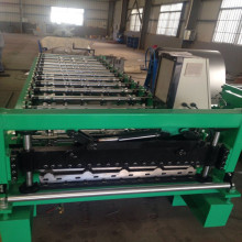 Excellent quality for Trapezoid Roof Sheet Forming Machine trapezoid sheet IBR metal roofing making machine supply to United States Supplier