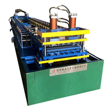 Decorate color steel plate roll forming machine