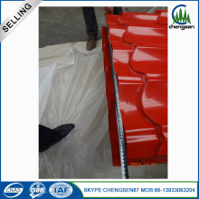 Prepainted Galvalume Corrugated Roofing Sheet