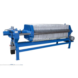 Automatic Hydraulic Sugar Syrup Cast Iron Filter Press