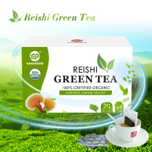 Ganoderma Lucidum Reishi Mushhroom Lingzhi Green Tea