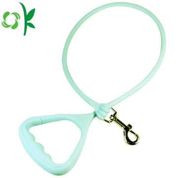 Silicone Pet Collar Dog Training Collar with Rope
