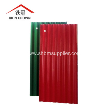 Strong No Poison Non-asbestos Fire-Rated MgO Roofing Tiles