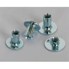 China for Manufacturer of Propeller Nuts, Wood Propell Nuts, Furniture Propell Nuts In China Stamped Steel Propeller T-Nuts export to Panama Manufacturer