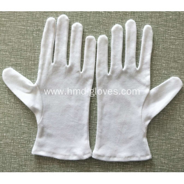 White Cotton Safety Working Gloves