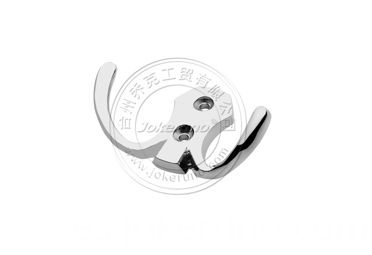 Aluminium clothes hook 18002