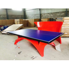 Box Type Rainbow  Table Tennis Table