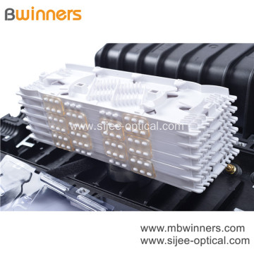 Horizontal Fiber Optic Splice Closure 24 to 144 Cores