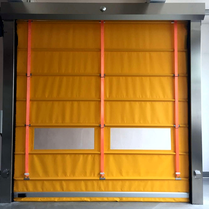 high speed stacking door