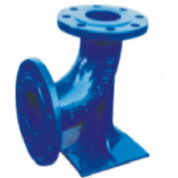 Ductile Iron Flange Double Flanged Duckfoot Bend