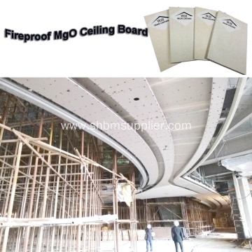 Anti-subsidence Heat-resistant Ceiling 6mm MgO Board