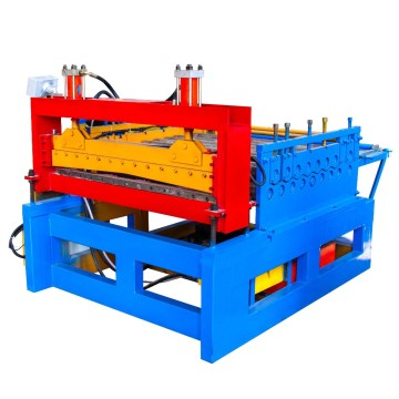 Steel Coil Flattening Roll Forming Machine