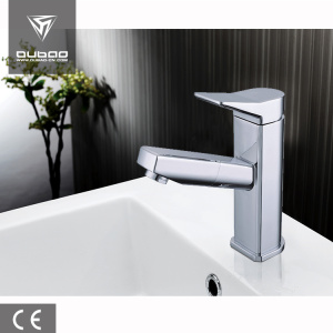 Bathroom basin faucet zinc alloy water mixer tap