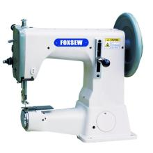 Top and Bottom Feed Extra Heavy Duty Thick Thread Sole Border Stitching Machine