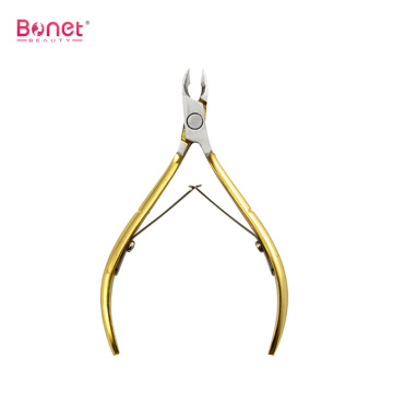 Gold Color Cuticle Nipper Perfect Cuticle Remover Tool