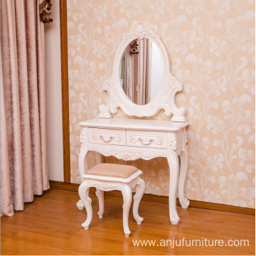 Luxury European style white Dresser table