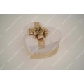 Handmade Cosmetic Gift Box Made of Linen