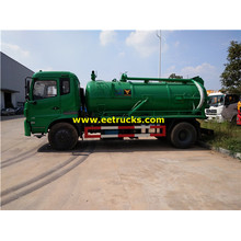 9000L 180HP Sewage Suction Tank Trucks