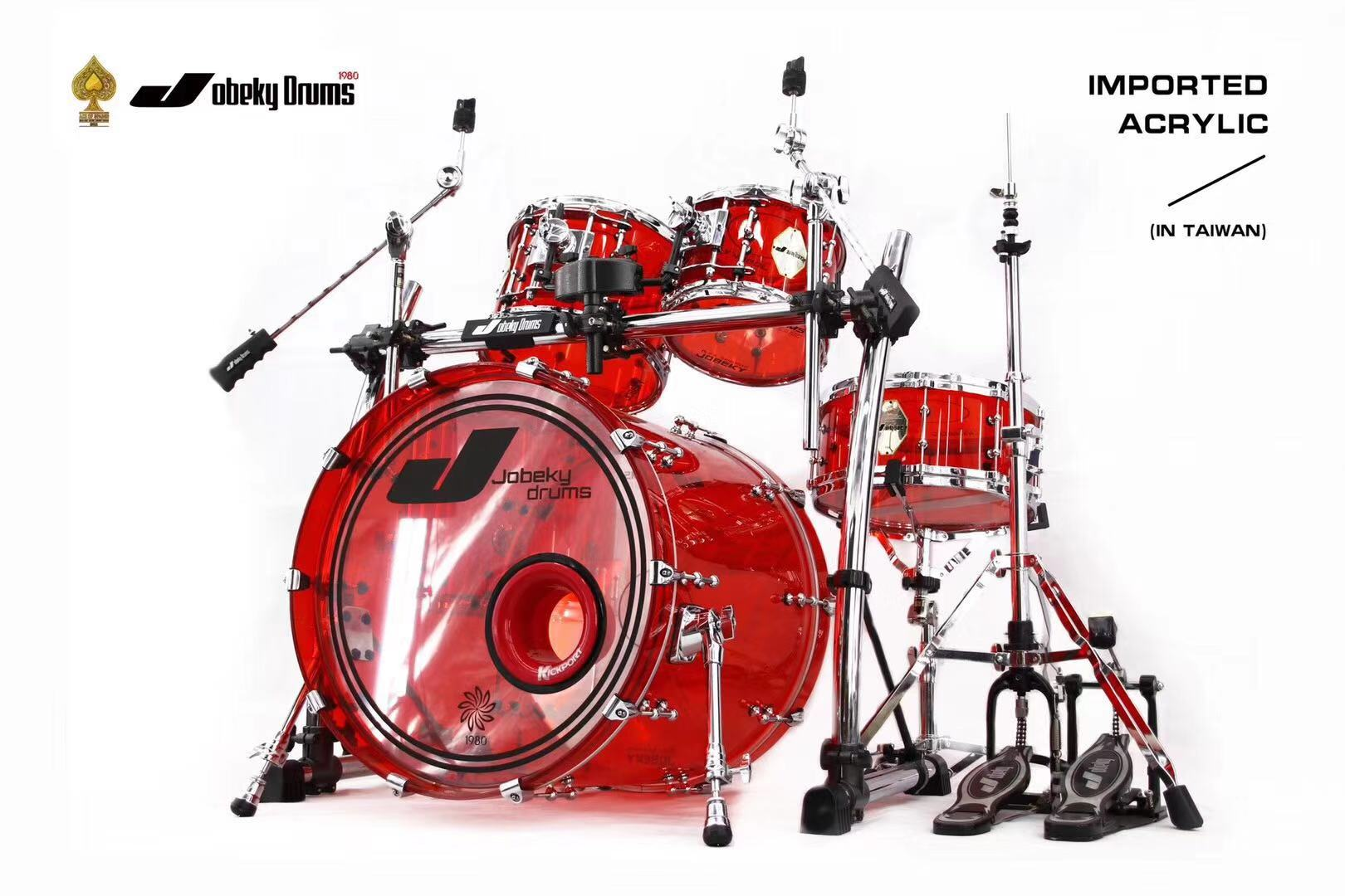 Good Quality Acrylic Drum Set