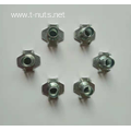 Full thread Rectangular plane Rivet Tee Nuts