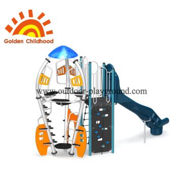 Outdoor Playground Equipment Rocket For Children
