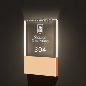 hotel number room signage numbers sign door illuminated led signs larger