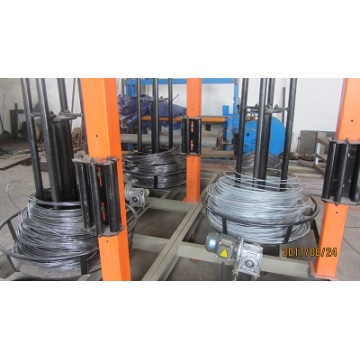 Steel rods truss mesh machine for building
