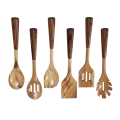 Olive wood utensil set of 6 pcs