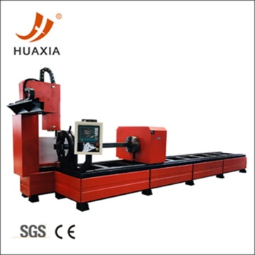 5mm thickness square pipe CNC plasma cutting machine