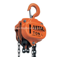 High Efficiency Factory for Vital Chain Pulley Block 1ton G80 Vital Chain Hoist for Lift supply to Russian Federation Factory