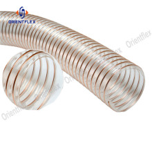 No smelling pu steel wire insulated flex duct