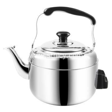 Stainless Steel Whistle Water Kettle With Handle