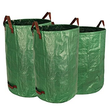 Tarpaulin bag garden bag with handles