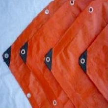 Ready Made 125gsm Orange Tarpaulin
