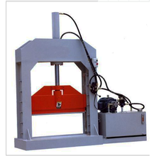 Hydraulic rubber cutting machine