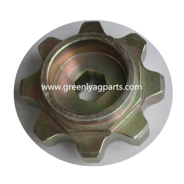 H233287 John Deere 8 Tooth Chain Upper Sprocket
