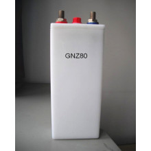 80ah PP container medium rate nicd battery