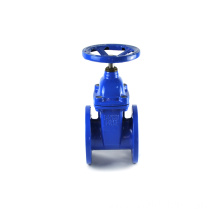 rubber seat flanged non rising stem steel carbon jis 5k50 gate valve