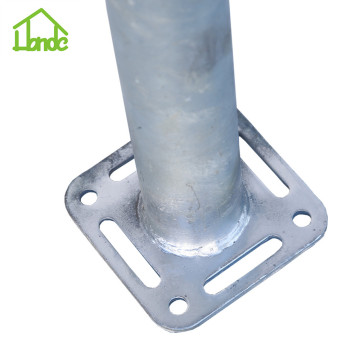 Square Ground Screw Anchors for Prefab House