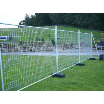 Outdoor steel iron removable temporary fence
