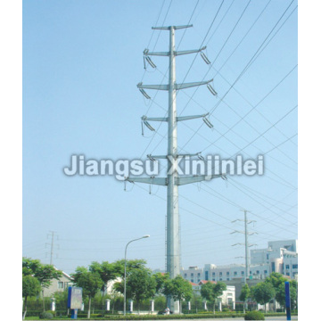 New Delivery for for Utility Pole 110kV Double Circuit Electric Power Pole supply to Comoros Supplier