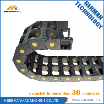 Fully Closed Plastic Drag Chain Corrosion Resisting