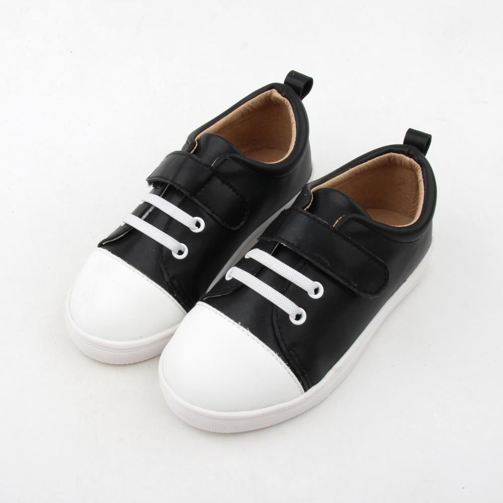 Rubber Sole Baby Leather Boy Casual Shoes