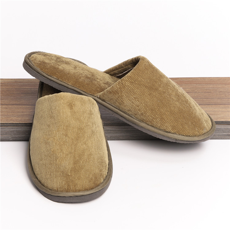 man winter home indoor slipper