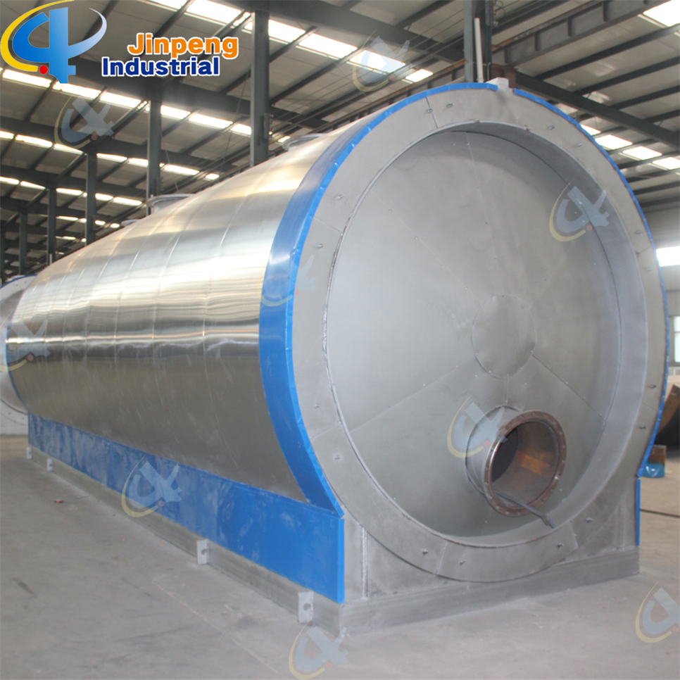 Tyre Fuel Oil Distillation Machine