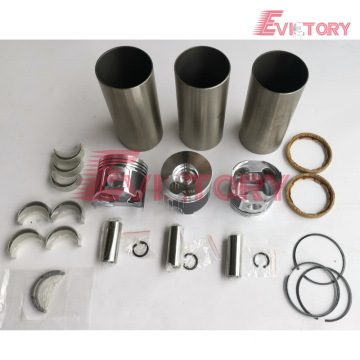 excavator 3TNV88 engine gasket bearing piston ring liner