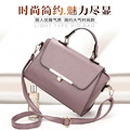 Nice style fancy lace leather PU handbag