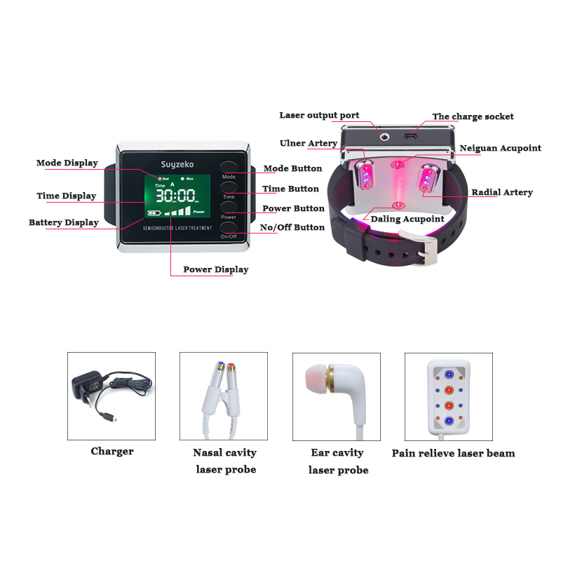 lllt laser physical therapy apparatus for diabetic