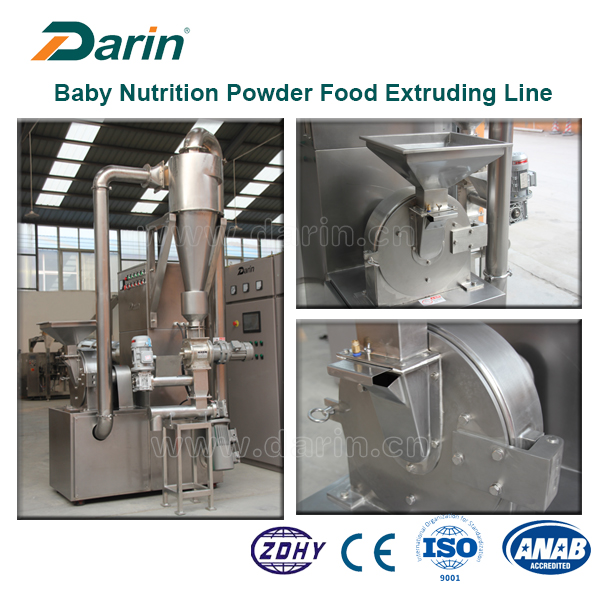Baby Infant Grain Nutrition Powder Equipment Extruding Line